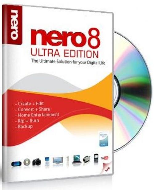 Самая лучшая программа для записи дисков - Nero-8.2.8.0 rus + key